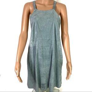 NWT Free People Sleeveless Racerback Blue Dress
